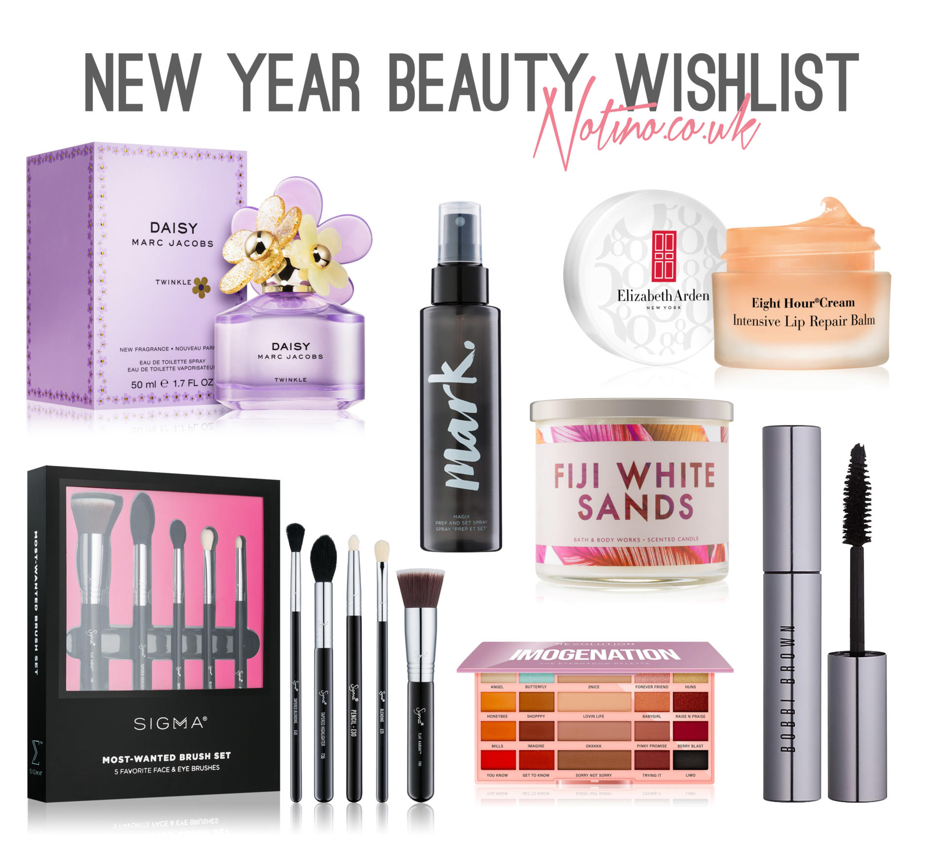 New year beauty at notino.co.uk - Rachel Nicole UK blogger