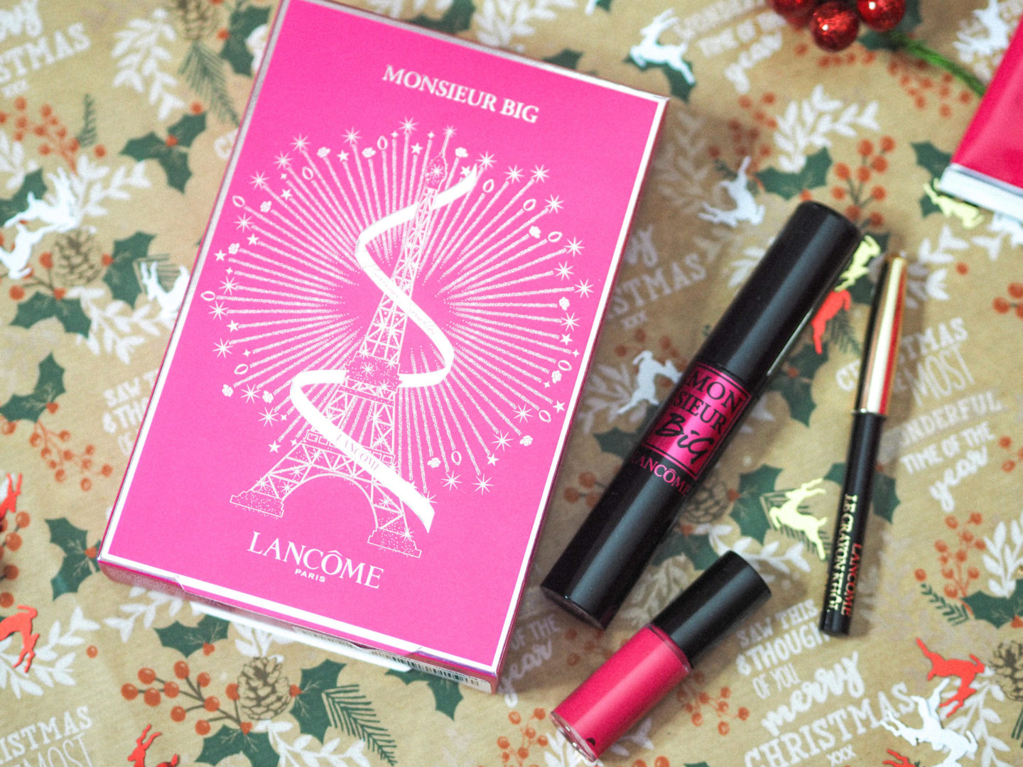 Win Lancôme Monsieur Big Giftset 12 Days of Christmas Giveaways - Rachel Nicole UK Blogger