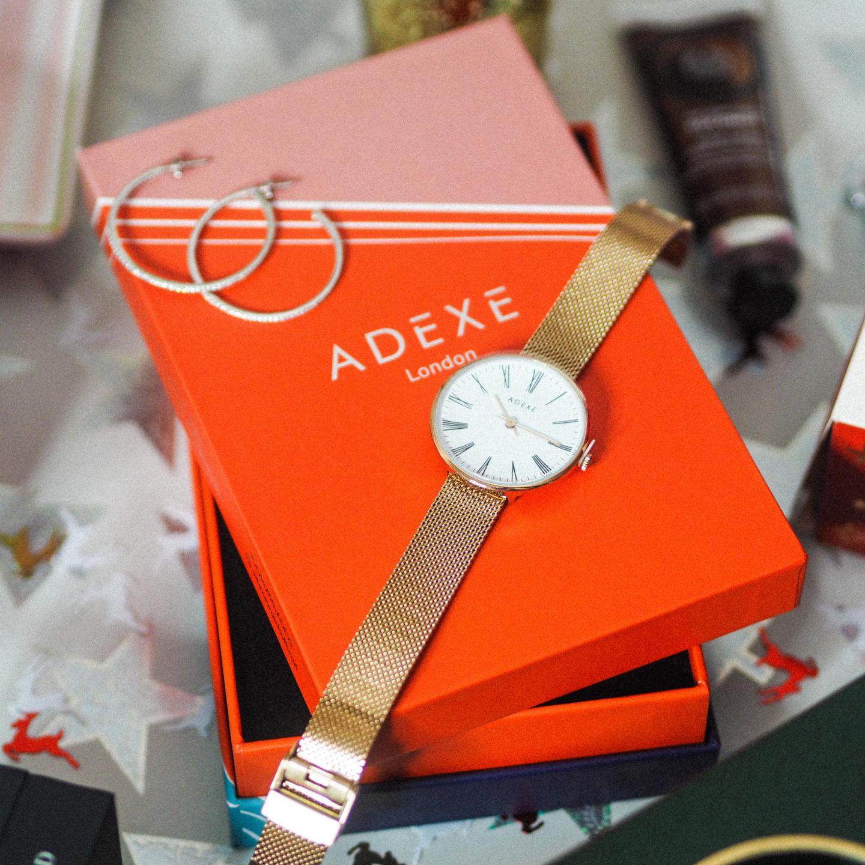 Win a Rose Gold Sistine ADEXE Watch - Rachel Nicole UK Blogger