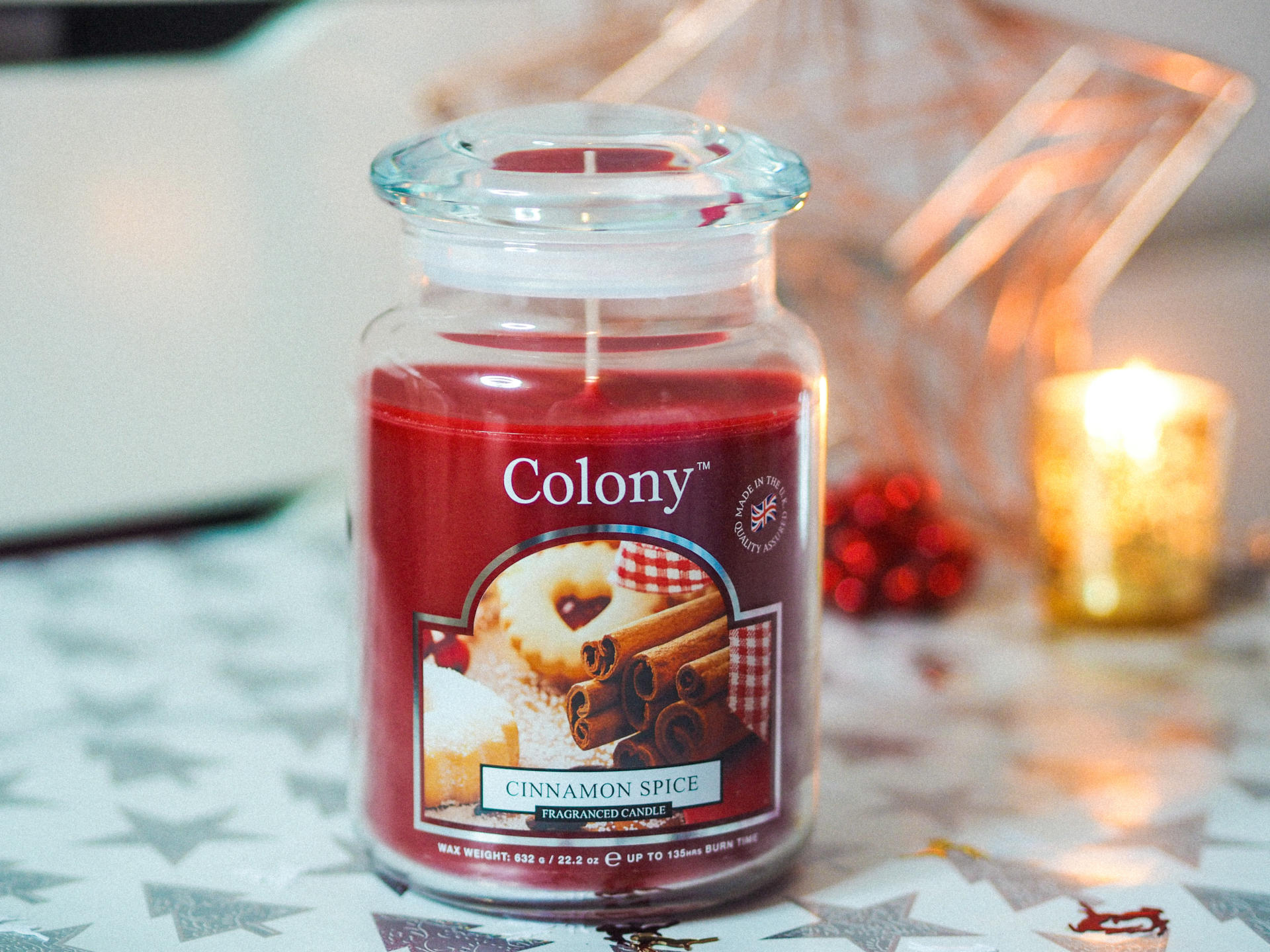 Win a Wax Lyrical Colony Cinnamon Spice Candle Jar - Rachel Nicole UK Blogger