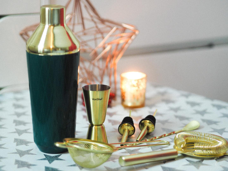Win a VonShef 9 Piece Cocktail Set from DOMU - Rachel Nicole UK Blogger
