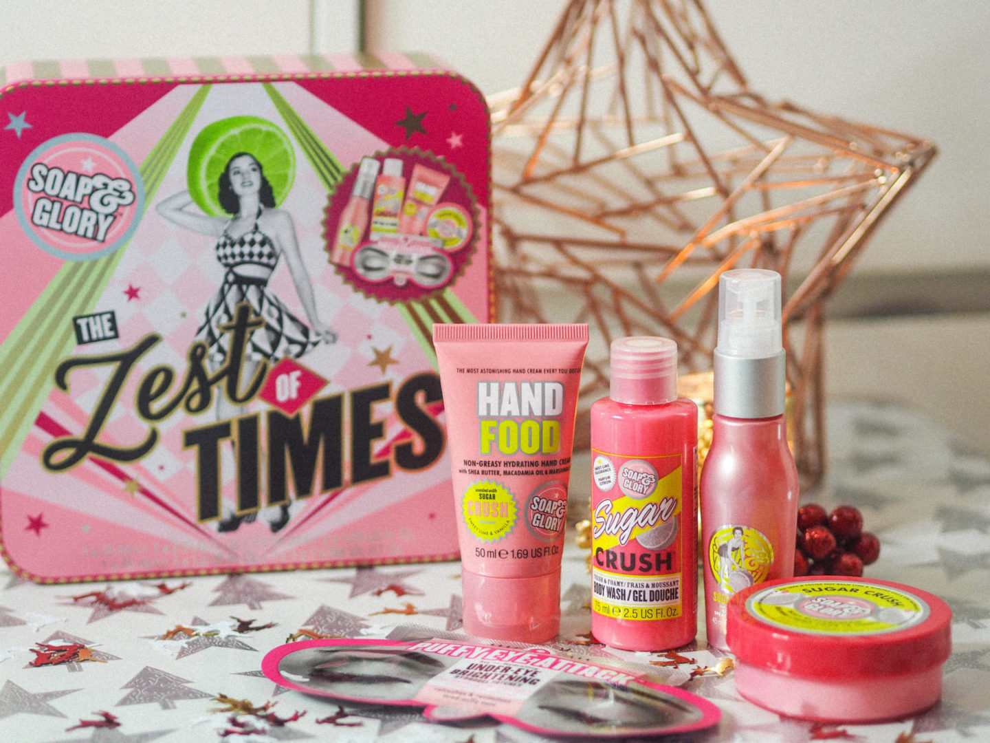 Win a Soap & Glory Zest of Times Giftset - Rachel Nicole UK Blogger