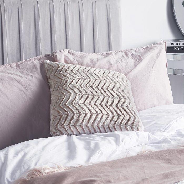 Win a Beautify Herringbone Throw and Cushion - Rachel Nicole UK Blogger