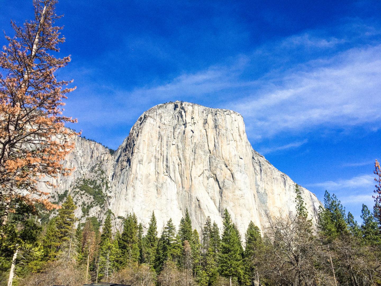 El Capitan at Yosemite National Park - Rachel Nicole UK Blogger