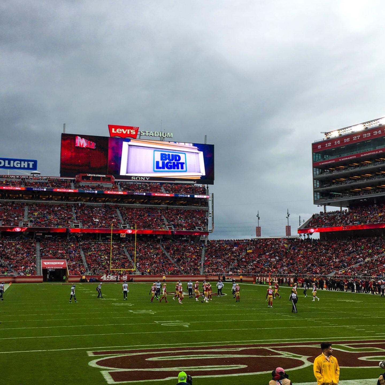 49ers NFL Game - Rachel Nicole UK Blogger