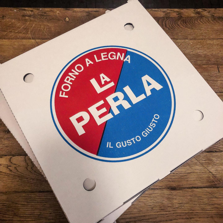 The ULTIMATE Guide to Visiting Amsterdam, La Perla Pizza - Rachel Nicole UK Blogger