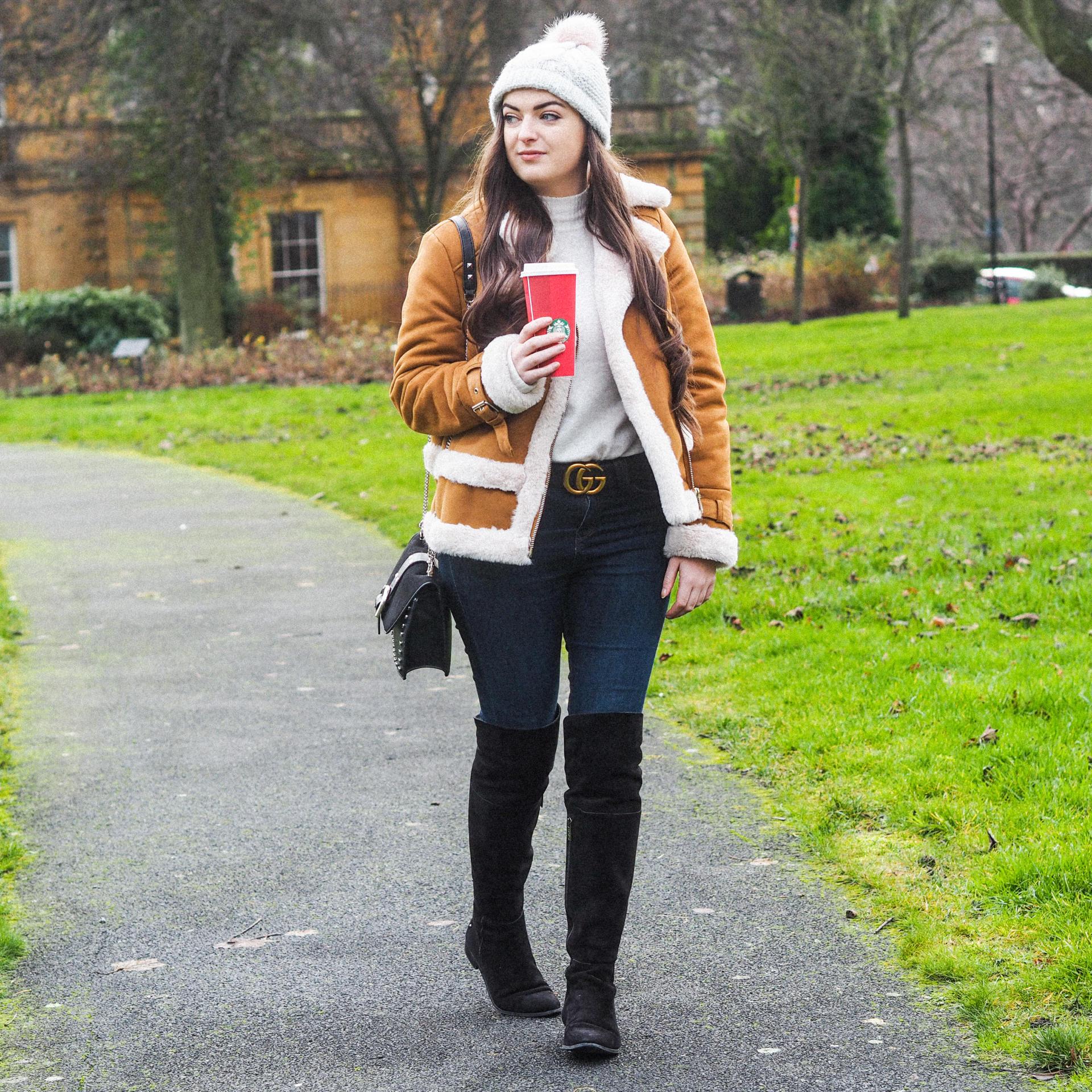 My Cosy Winter Look with River Island - Rachel Nicole UK Blogger