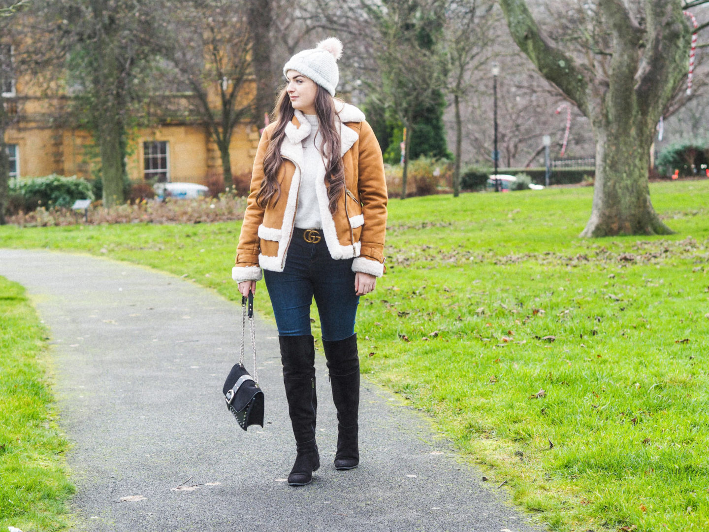 My Cosy Winter Look with River Island - Rachel Nicole UK Blogger