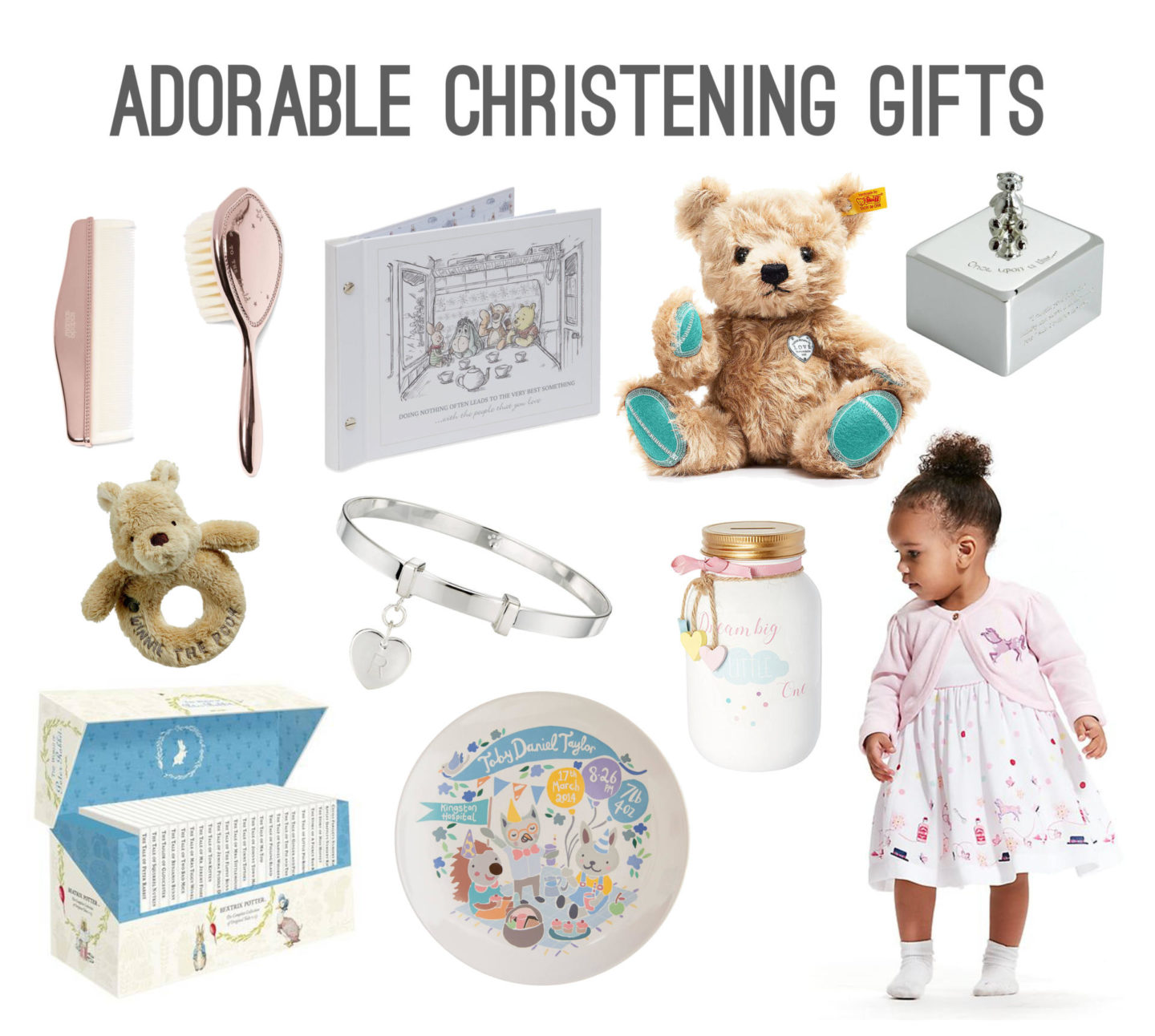 Adorable Christening Gifts - Rachel Nicole UK