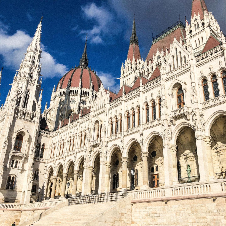 Four Days in Budapest, Parliament Building - Rachel Nicole UK Blogger