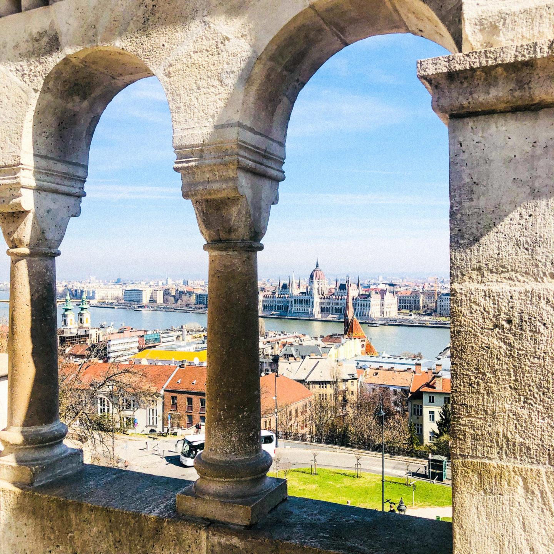Four Days in Budapest, Fisherman's Bastion - Rachel Nicole UK Blogger