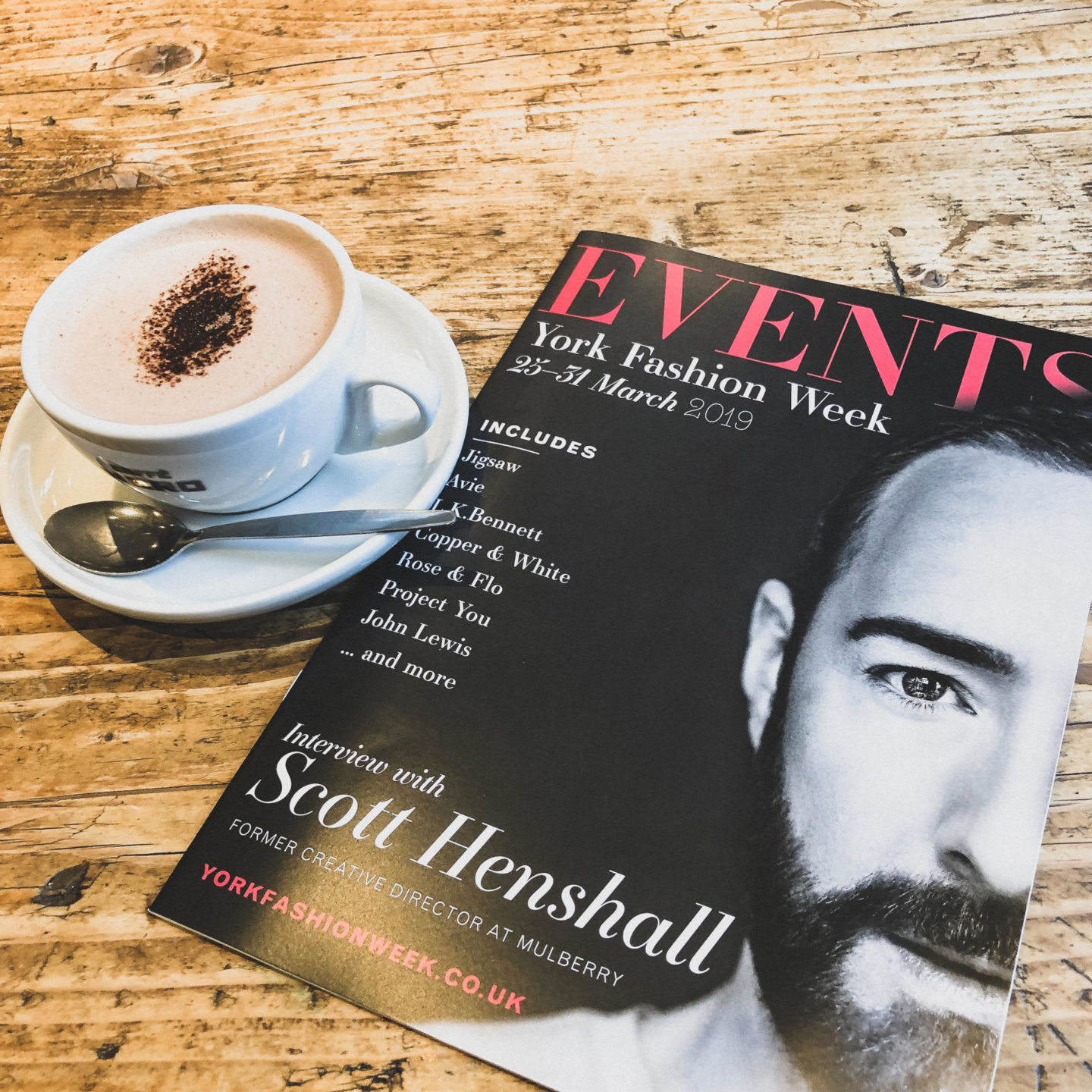 An Evening with Scott Henshall at The Ivy, York