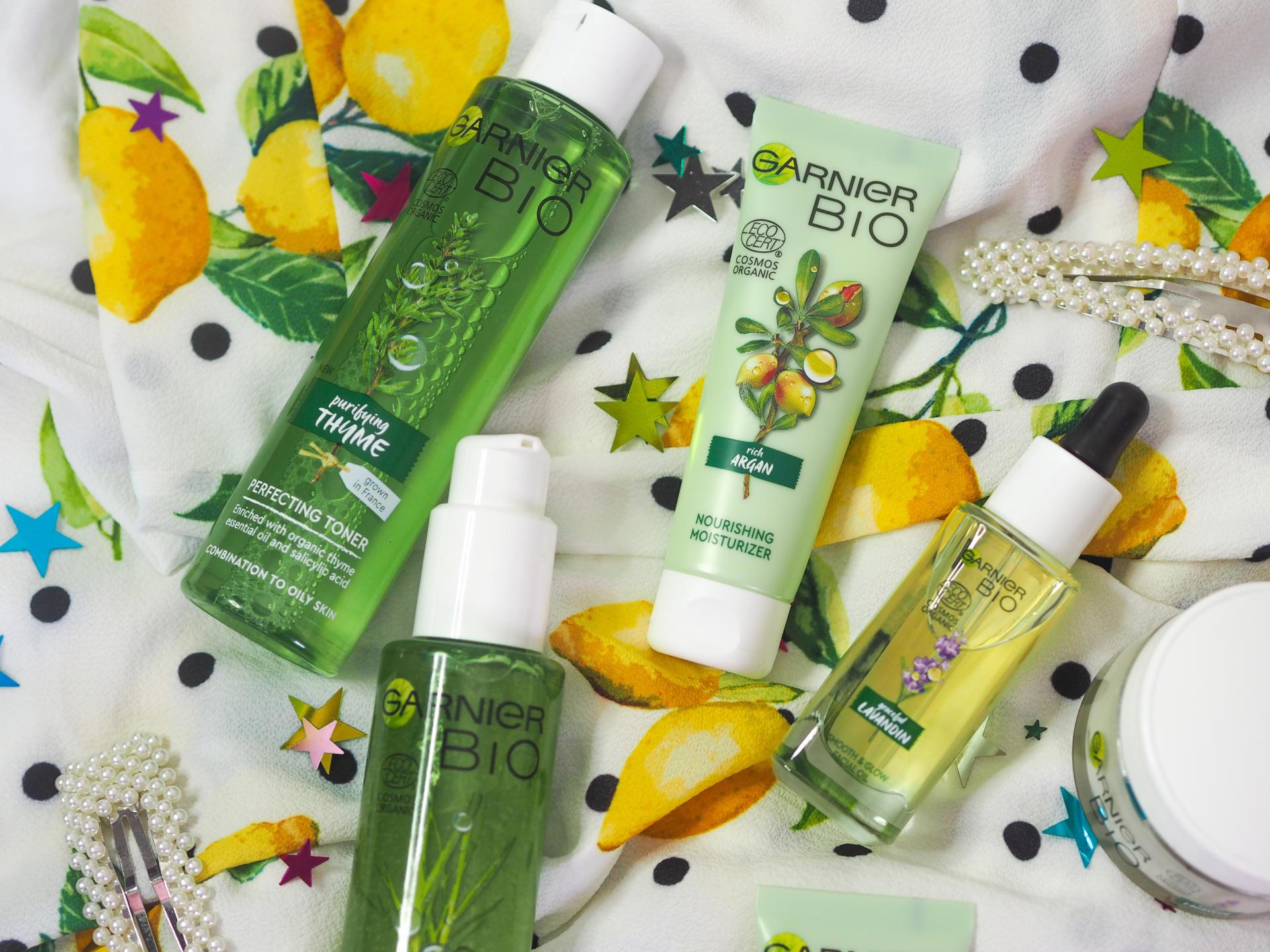 A First Look at the NEW Garnier Bio Organic Skincare Range - Rachel Nicole UK Blogger