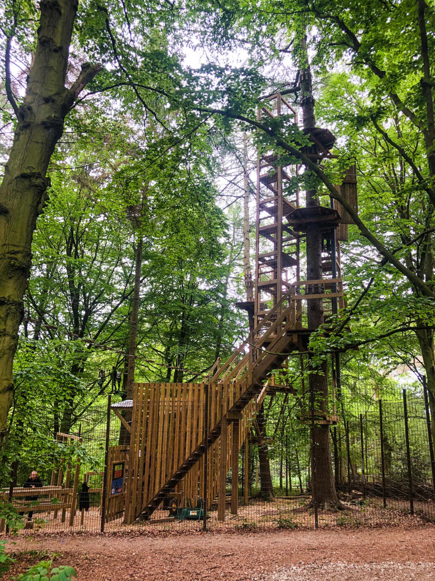 Tree Top Adventures at Go Ape Temple Newsam - Rachel Nicole UK Blogger