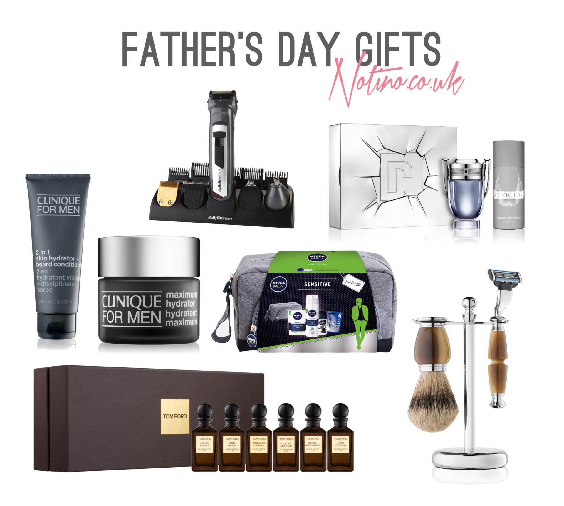 Father's Day Gift Guide with Notino.co.uk - Rachel Nicole UK Blogger