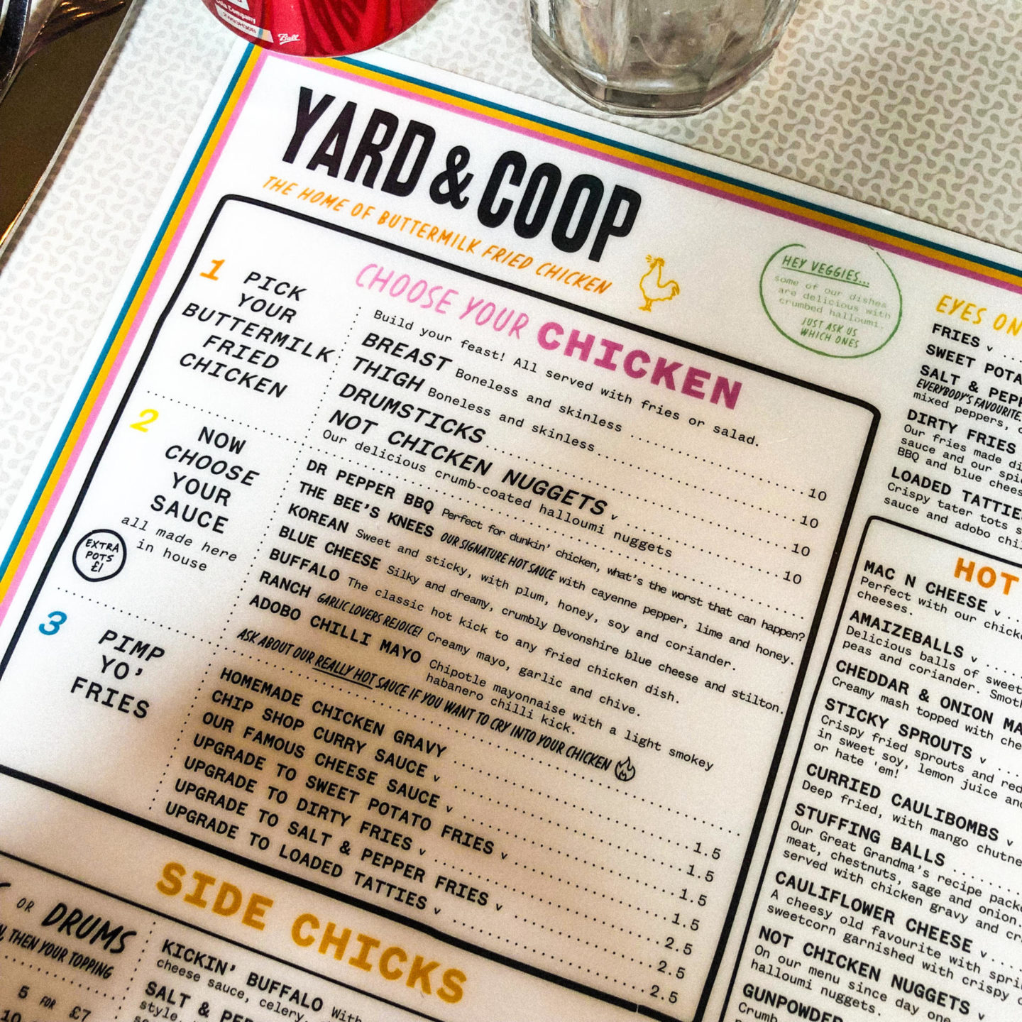 The Sunday Roast Diaries: Yard & Coop, Manchester - Rachel Nicole UK Blogger
