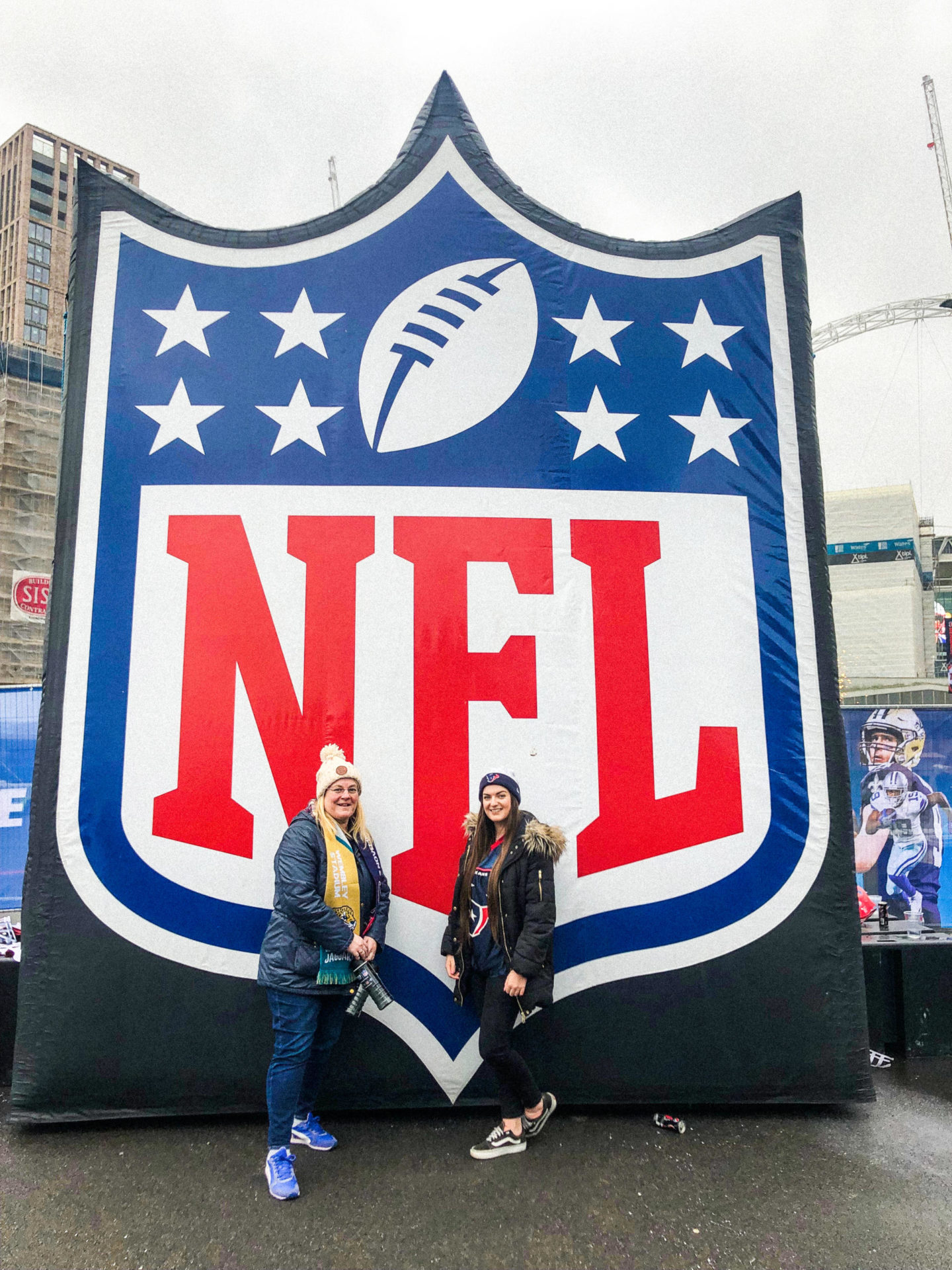 My NFL London Games Experience at Wembley with National Express - Rachel Nicole UK Blogger