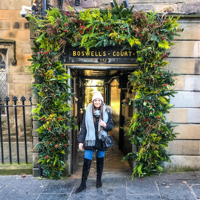 A Festive Trip to Edinburgh, Scotland - Rachel Nicole UK Blogger