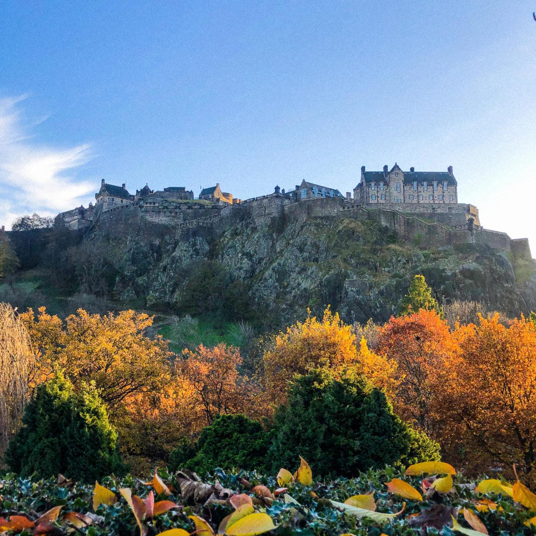 Edinburgh Castle - Rachel Nicole UK Blogger