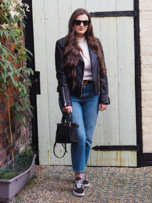Three Ways to Style Straight Leg Jeans - Rachel Nicole UK Blogger