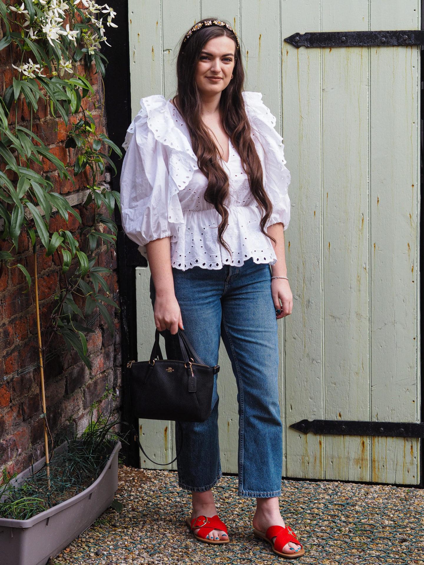 Three Ways to Style Straight Leg Jeans - Rachel Nicole UK Blogger