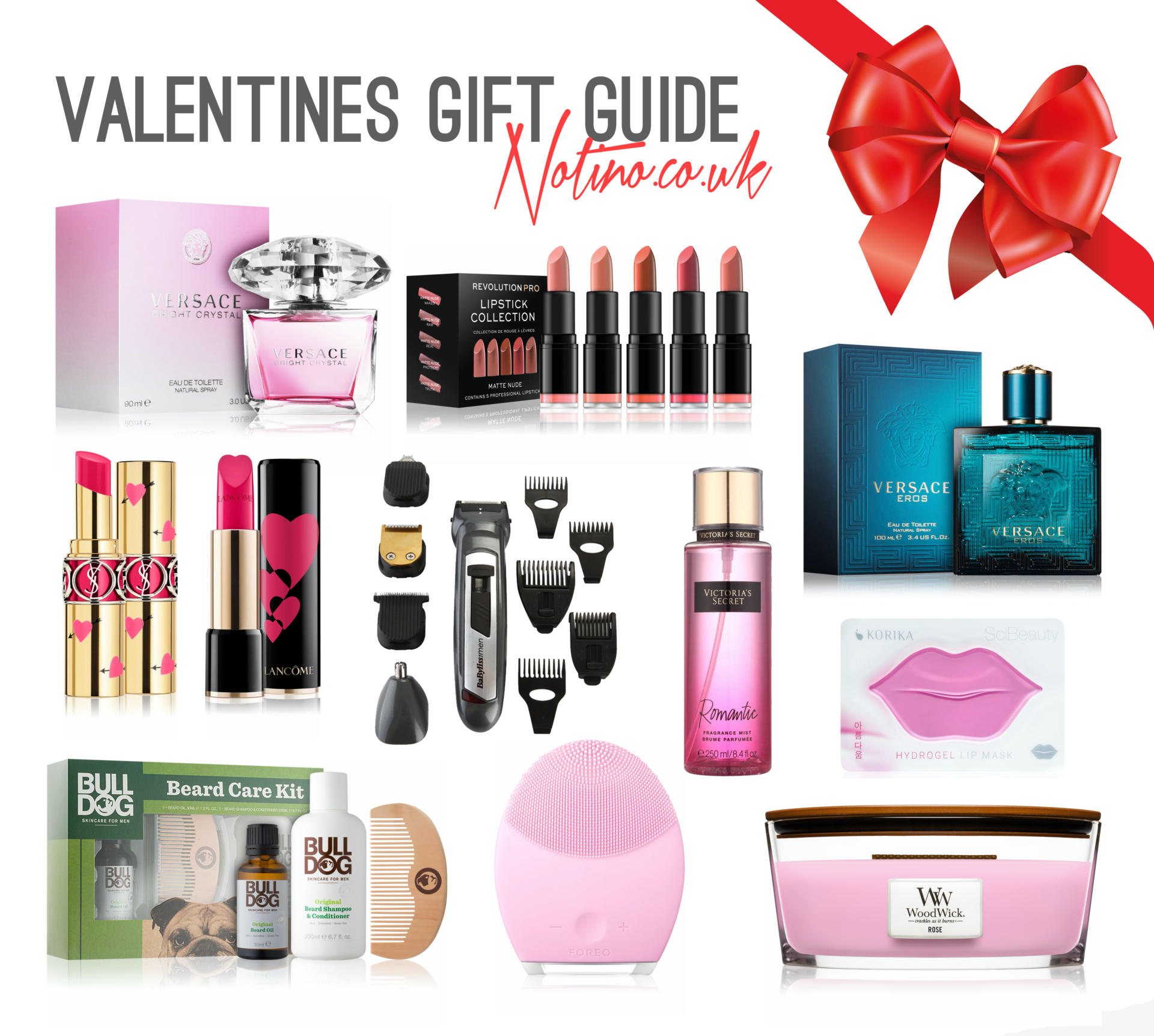 Valentine's Day Gift Guide with Notino.co.uk - Rachel Nicole UK Blogger