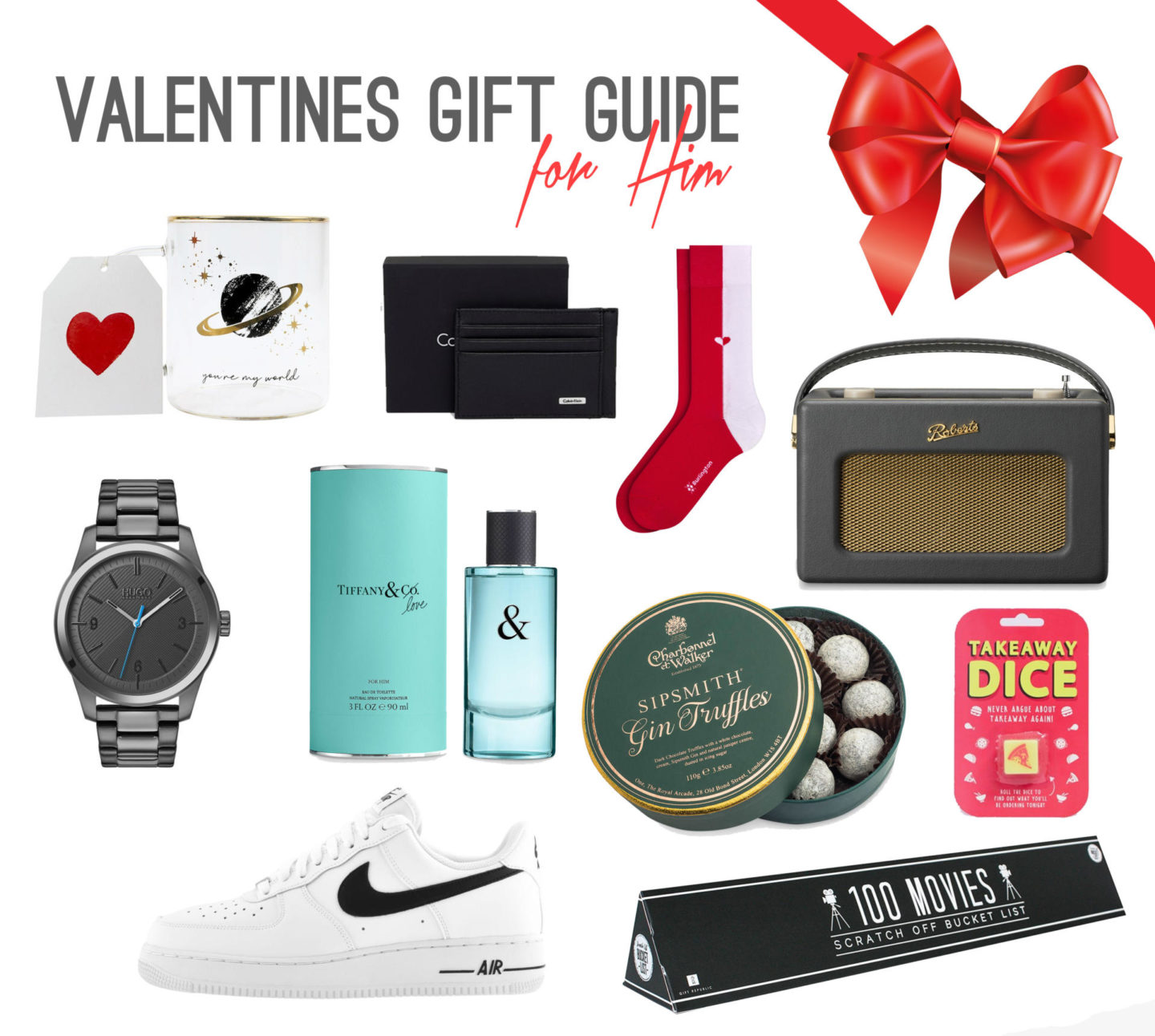 Last Minute Ideas for a Valentine's Day Gifts - Rachel Nicole UK Blogger